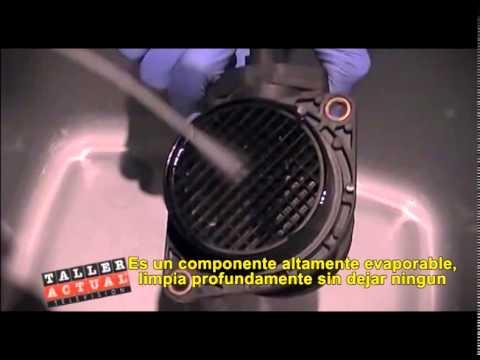 Limpieza del sensor del caudal metro maf con limpiado for Limpia caudalimetros norauto