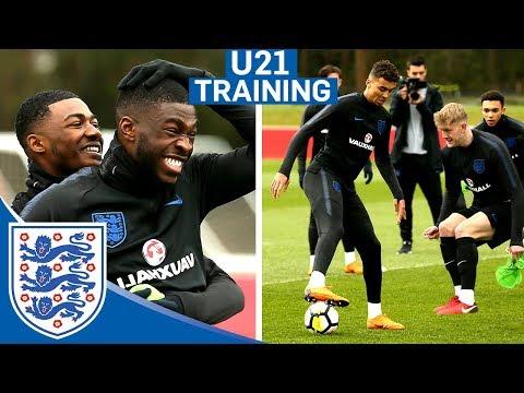 Hilarious Reactions to DOUBLE Nutmeg!!   U21   Inside Training