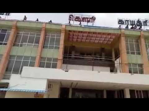 Am 57 vivegam Gudiyatham thala fans banner in ganga gowry Gaythri theater