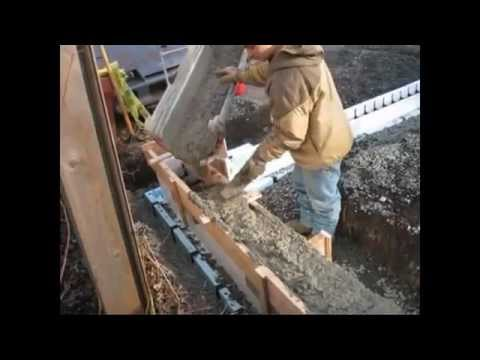 How to build a foundation from start to finish using insulating how to build a foundation from start to finish using insulating concrete forms icf solutioingenieria Gallery