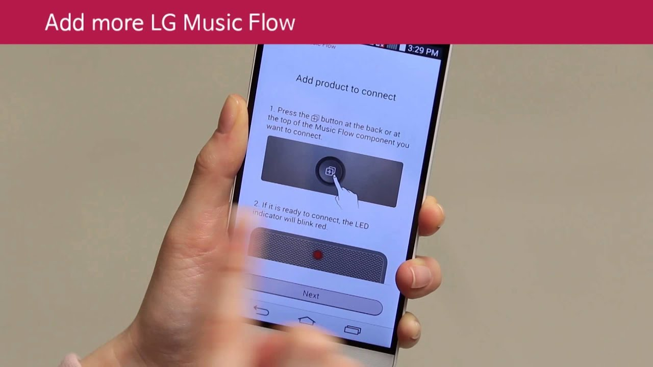 LG Music Flow Setup Guide for Wi Fi Audio & MR140 User ...