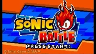 Let's Look at Sonic Battle!