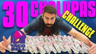 30 TACO BELL CHALUPA CHALLENGE