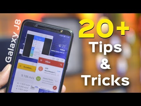 Samsung Galaxy J8 Top 20 Best Features | Galaxy J8 infinity Tips And Tricks in Hindi | Data Dock