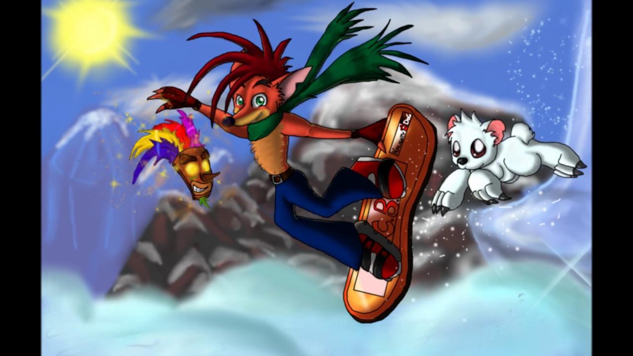 Crash Bandicoot Christmas.Crash Bandicoot Christmas Tribute Ashes Of Eden