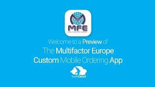 Multifactor Europe - Mobile App Preview - MUL333W