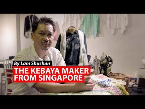 The Kebaya Maker from Singapore   CNA Insider