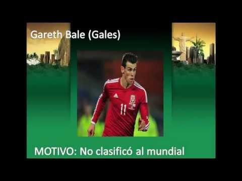 Jugadores que NO estarán en el Mundial Brasil 2014 / Players not going to World Cup Brazil 2014