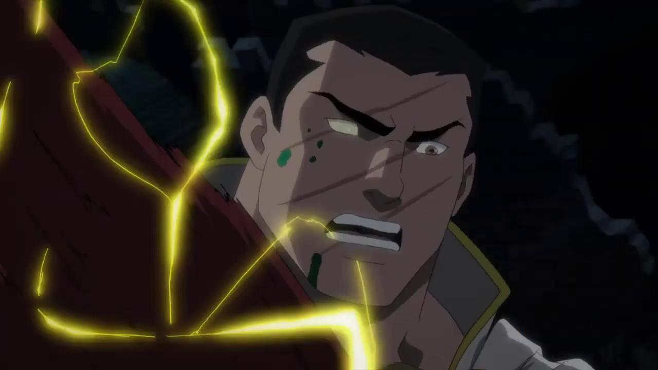 Justice League Dark Apokolips War 2020 Shazam Death Scene Youtube