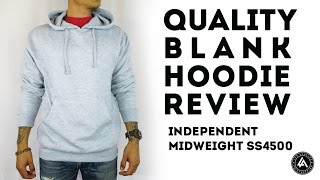 High Quality Blank Hoodie Review