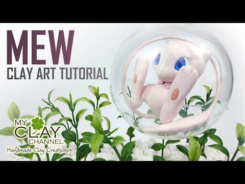 Mythical Pokemon Mew - Clay Art Tutorial thumbnail