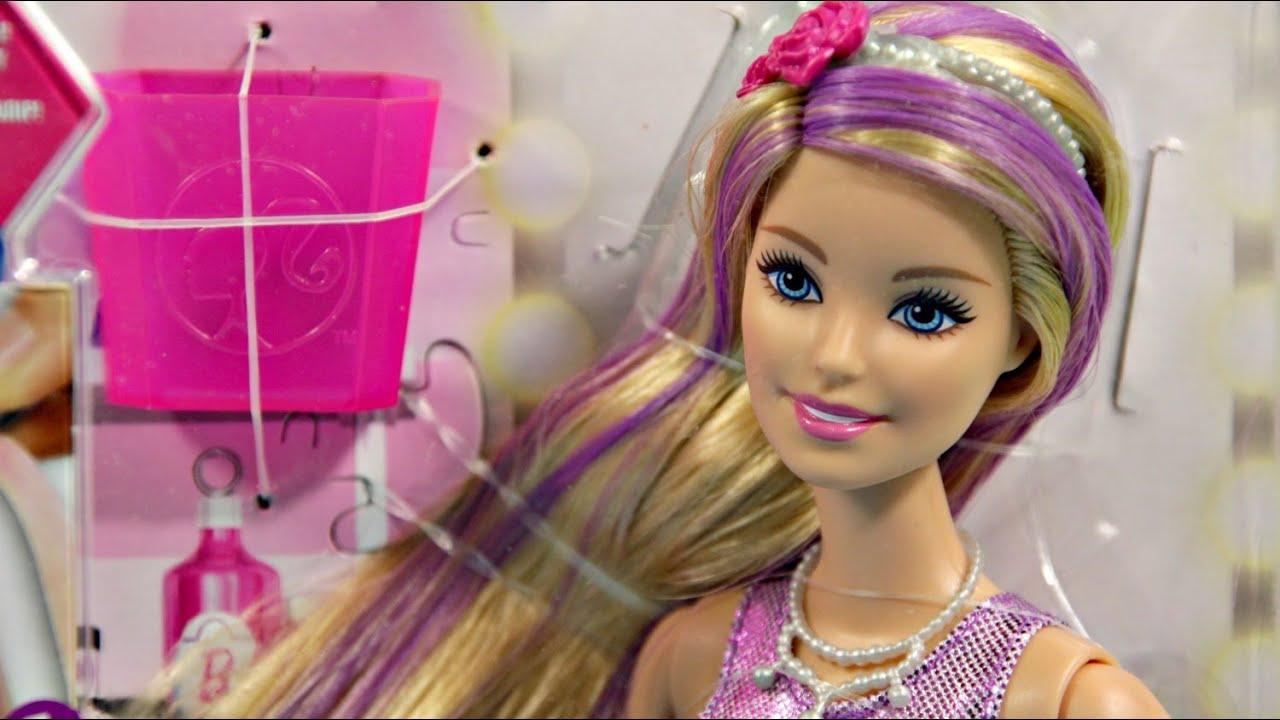 Barbie Hair Color And Style Doll Barbie Kolorowa Stylizacja