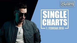 TOP 20 SINGLE CHARTS - 1. FEBRUAR 2018