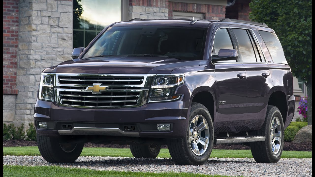2016 Chevrolet Tahoe Z71 4WD Full Tour & Start-up - YouTube