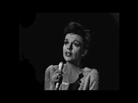 JUDY GARLAND sings BY MYSELF and receives a standing ovation 1964