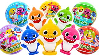 Who's in there? Pinkfong BabyShark Capsule Figure | PinkyPopTOY