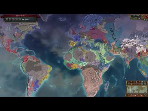 EU4 Time Lapse - Hard African Power