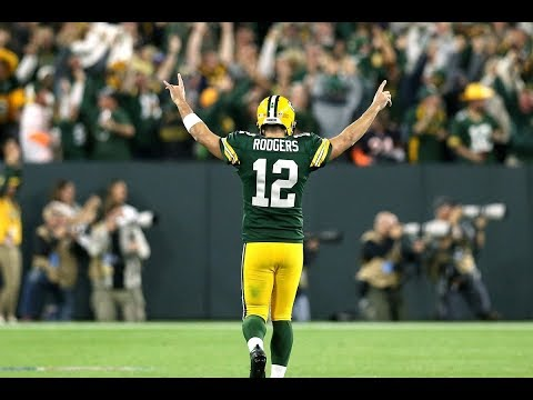 Aaron Rodgers' AMAZING Week One Against The Bears! NFL Player Of The Week 2018