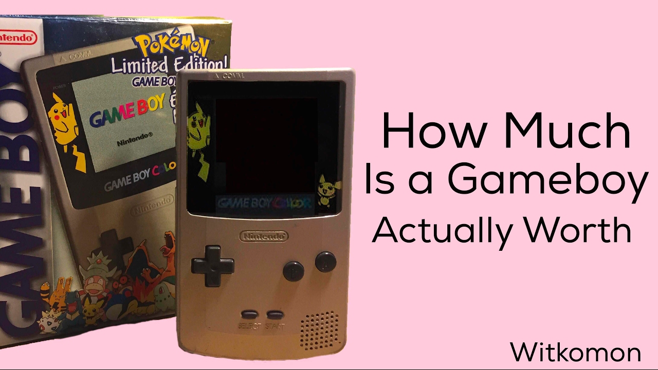 Purple gameboy color worth - How Much Is A Gameboy Actually Worth