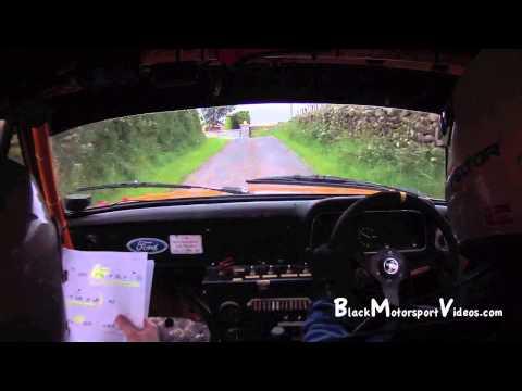 Chris Simms & Chris Hazley - Down Rally 2012 - Stage 3