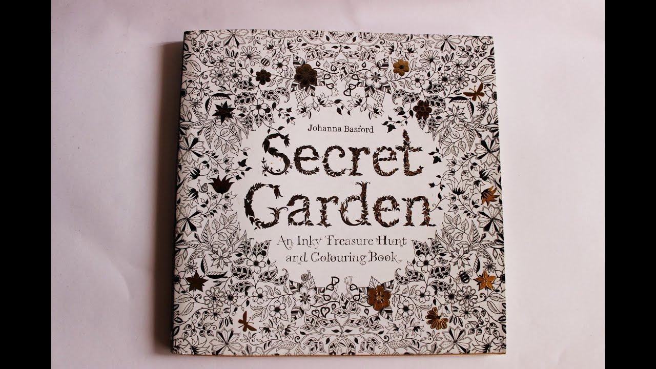 The secret garden coloring book review - Secret Garden Coloring Book Flip Through Review