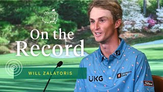 Will Zalatoris Off To Strong Start In His First Masters | The Masters