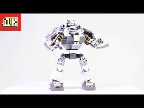 Сборка лего.70737 Битва Механических роботов .Лего ниндзяго. 70737.lego Ninjago 70737.