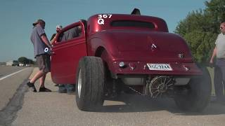 HOT ROD Drag Week 2017 Race Cars on the Road - Day 3