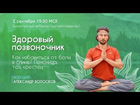 Здоровый позвоночник. 5 базовых принципов здоровой поясницы, крестца и таза. 2 сентября - Видео онлайн