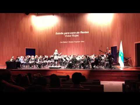 Salsita Para Coro De Flautas. Victor Rojas. Soy Tico.