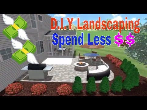 diy-do-it-yourself-landscaping-//-gardening-tips,-new-mulch,-new-bushes,-costum-patios