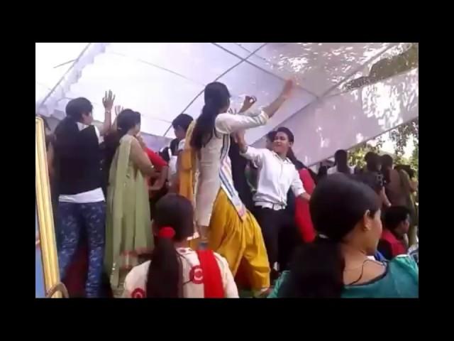 Dav college  girl dance