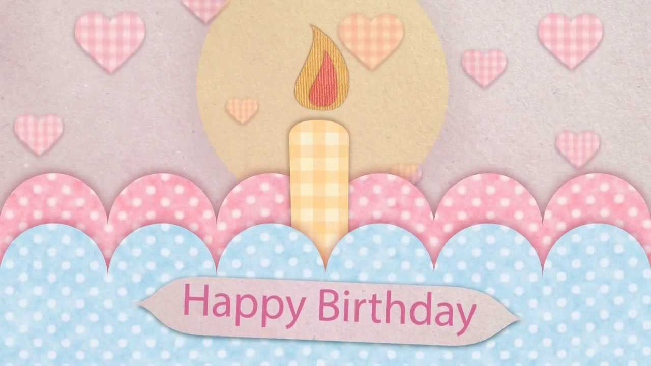 Happy Birthday Card After Effect Free Template   YouTube  Free Template Birthday Card