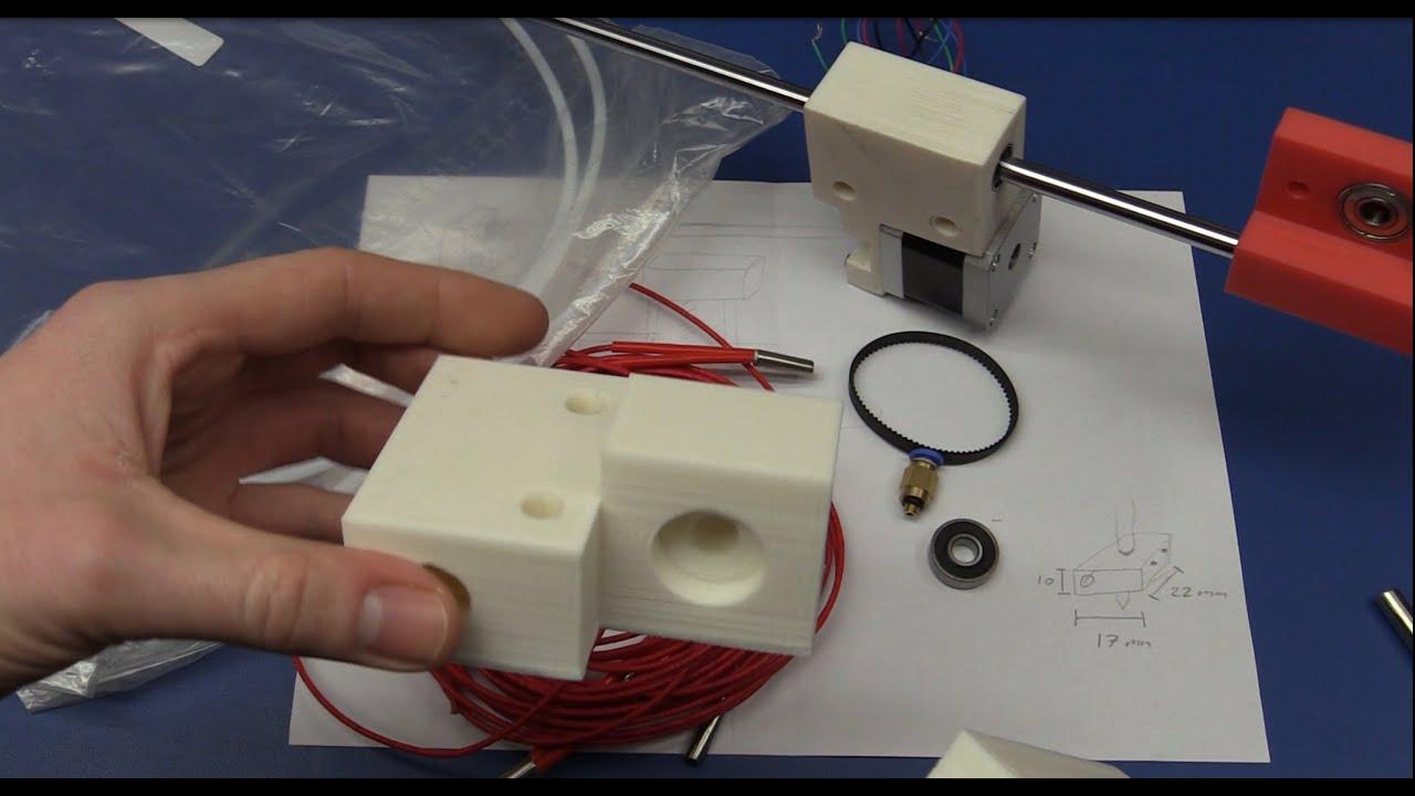 Diy 3d printer build from scratch part 2 making stuff for 3d printer build plans