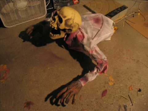 diy scary animated halloween props my haunt 08 60 - Scary Homemade Halloween Props