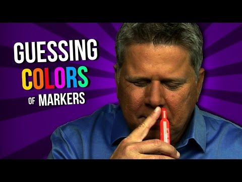 Guessing The Colors of Scented Markers