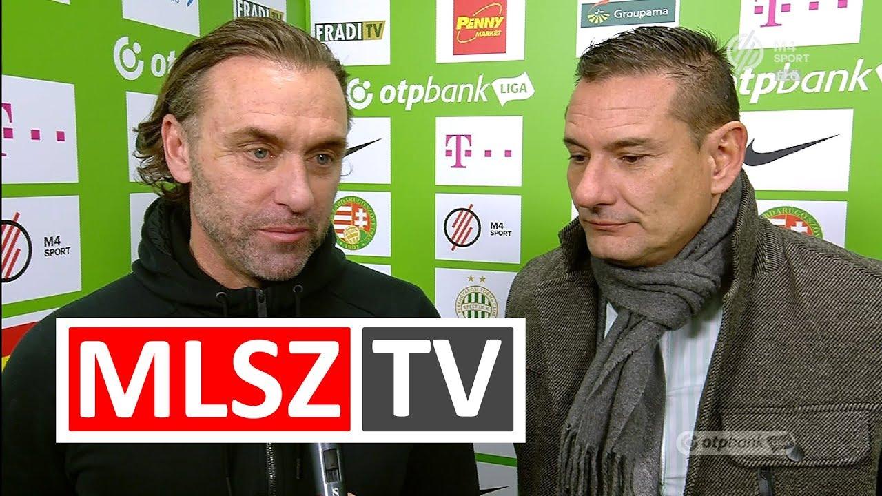Thomas Doll edzői értékelése a Ferencvárosi TC - Videoton FC mérkőzésen