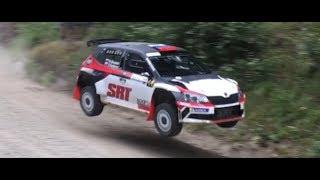 WRC2 Rally Finland test 29.7.2019 (big jumps)