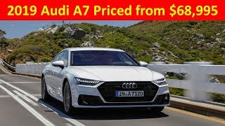 2019 Audi A7 Priced from $68,995 - Audi - Audi 2019 - Car news