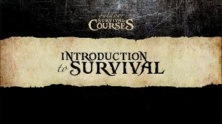 Boswa Survival - Introduction Survival Course