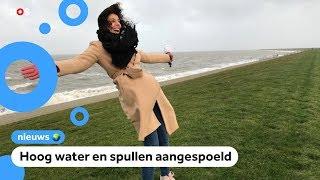Stormachtig weer in Nederland