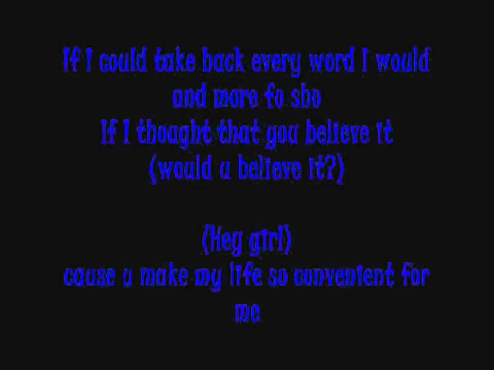 Nelly - My Place - lyrics