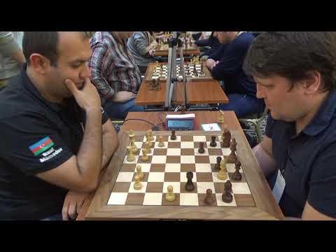 GM Rauf Mamedov - GM Valery Popov, Caro-Kann defense, Blitz chess