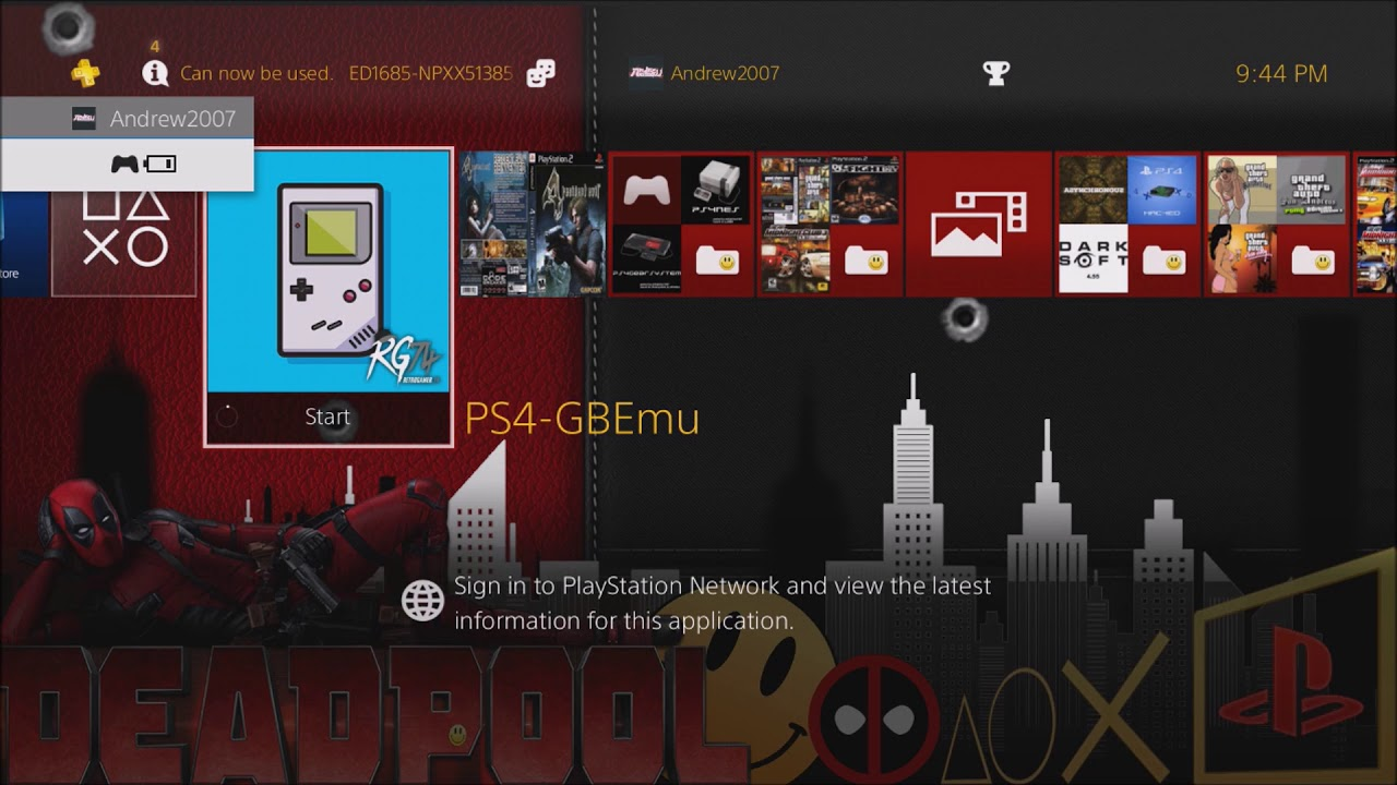 Emulators on ps4
