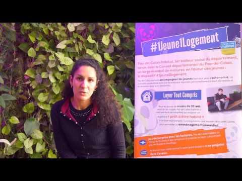 Amel Tebessi nous parle d'1jeune1logement