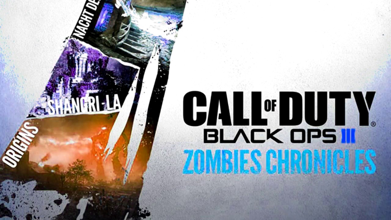 Call of Duty Black Ops 3 - Zombie Chronicles Gameplay Trailer Music! (I Run  by Hidden Citizens)