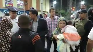 مدير أمن الاسماعيلية لوالدة سائق مخالف