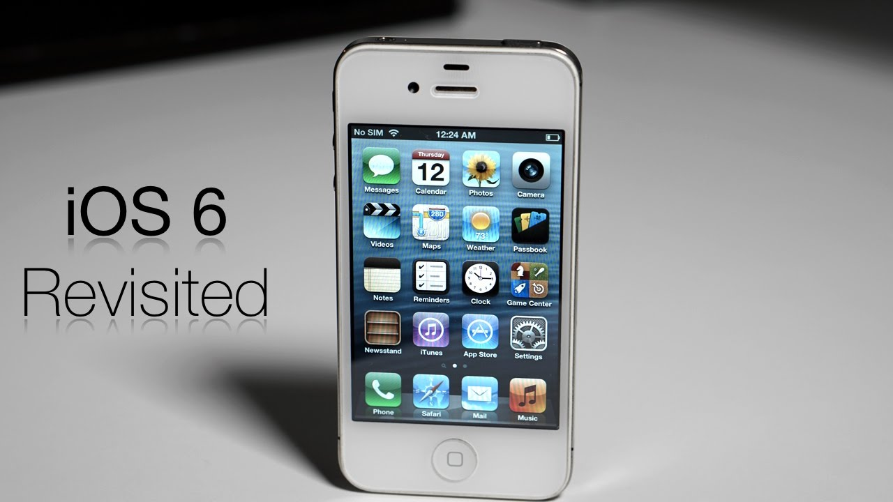 iphone 6 ios ios 6 revisited the end of the steve era 11350