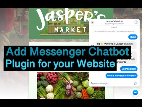 How To Add Facebook Messenger Chat Plugin In Your Website?