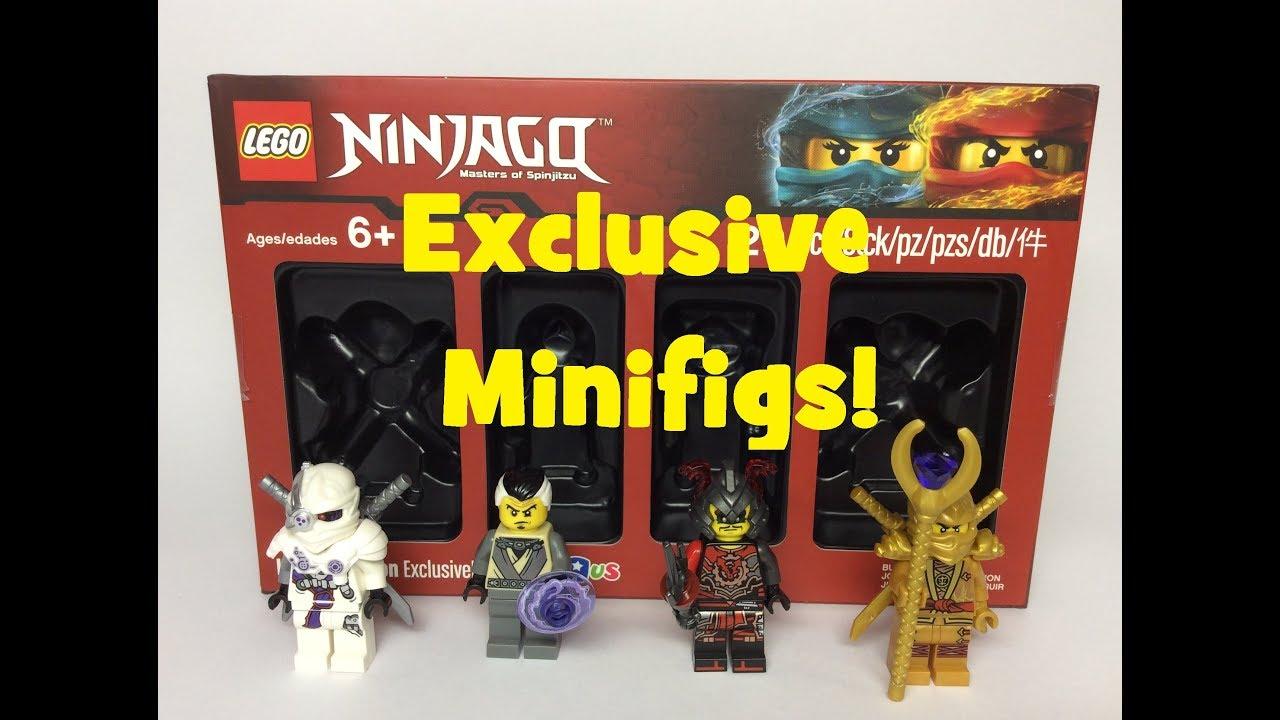 Lego Ninjago Toysrus Exclusive Bricktober Minifigure Pack